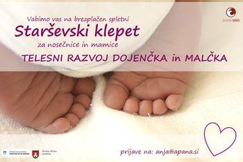 Telesni razvoj dojenčka in malčka