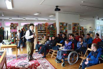 V Lavričevi knjižnici smo zaključili tretjo sezono Knjigožura