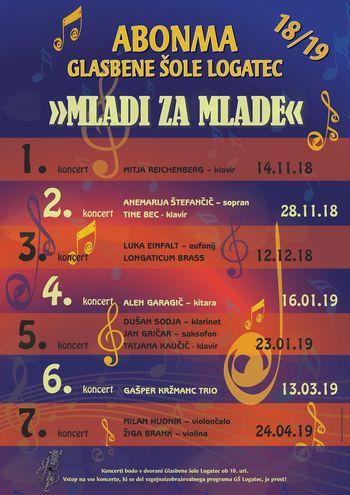 """Abonma """"MLADI ZA MLADE 2018/2019"""""""