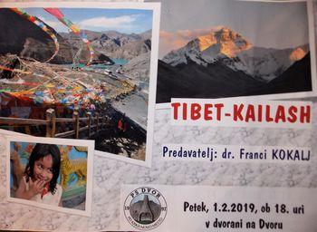 Predavanje Francija Koklja o TIBETU - KAILASH