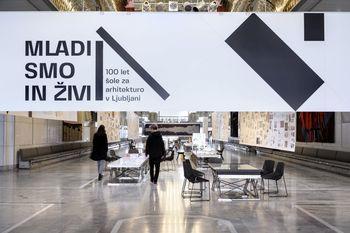 Razstava Mladi smo in živi: 100 let šole za arhitekturo v Ljubljani