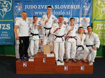 Rok Pogorevc članski državni prvak v judu