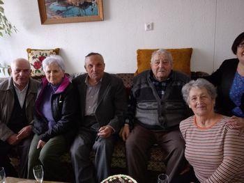 Franc Verbič nekdanji predsednik DU Logatec praznoval 90 let
