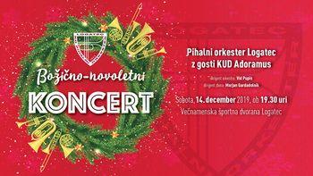 Božično-novoletni koncert Pihalnega orkestra Logatec z gosti