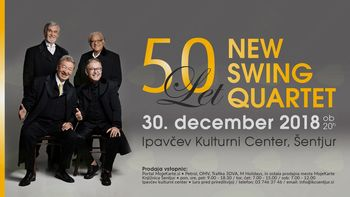 50 let na odru: New Swing Quartet
