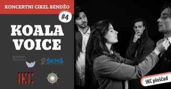 Koncert Koala Voice   Koncertni cikel Bendžo