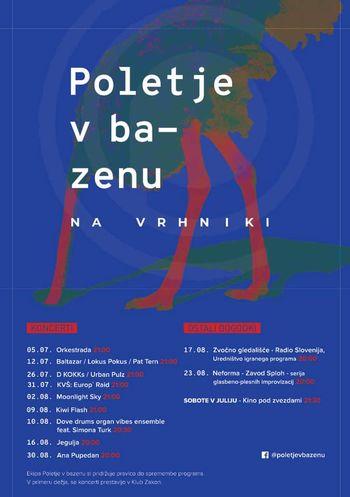 festival Poletje v Bazenu 2019