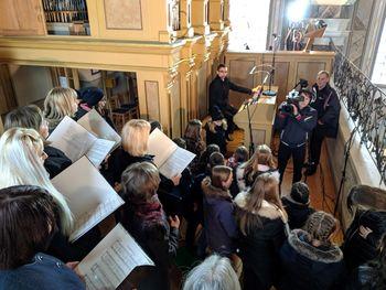 Nedeljsko bogoslužje v Cirkovcah z Utrinkom in Lučkami na nacionalki