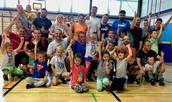 Medgeneracijsko družinsko tekmovanje v spretnostnem poligonu in judo igrah