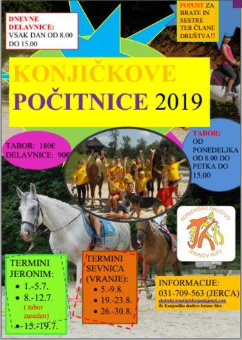 Konjičkovi tabori 2019