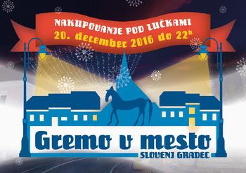 GREMO V MESTO - Z nakupom v mestnem jedru Slovenj Gradca do privlačne nagrade!