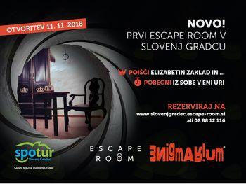 Escape room Slovenj Gradec