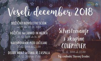 Decembrske prireditve v Slovenj Gradcu