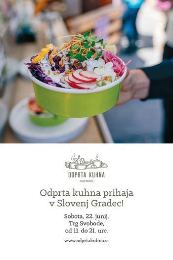 Odprta kuhna v Slovenj Gradcu