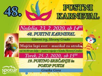 48. Pustni karneval v Slovenj Gradcu