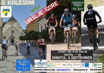 21. Kolesarski festival  - S kolesom okoli Uršlje gore