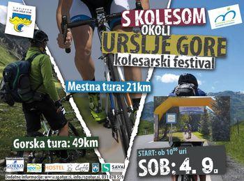 22. kolesarski festival S kolesom okoli Uršlje gore 2021