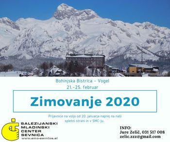 Zimovanje 2020