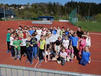 Atleti mlajših selekcij so se zbrali na skupni vadbi