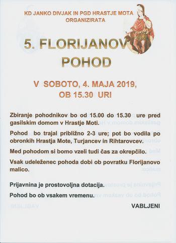 5. FLORIJANOV POHOD
