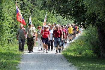 Po poti spominov na leto 1991 na Vrhniki – memorial Toneta Jesenka
