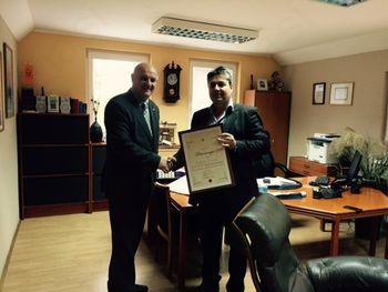 Župan podelil priznanje podjetju Schiki d.o.o.