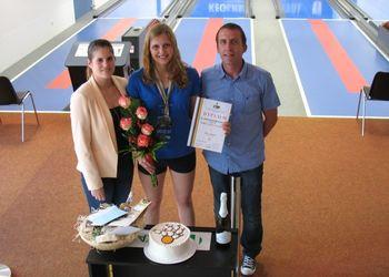 Svetovna kadetska podprvakinja Nika zmagovalka klubskega sprinta