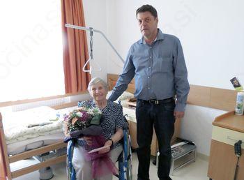 90-letnica Emilije Rozman