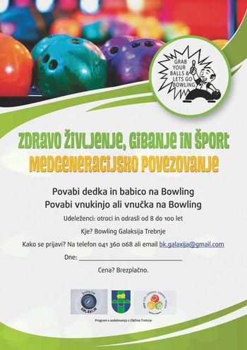 Medgeneracijsko povezovanje na Bowlingu