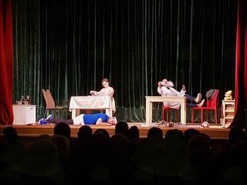 Uspešna izvedba abonmaja Koroškega Deželnega Teatra v Podgorju