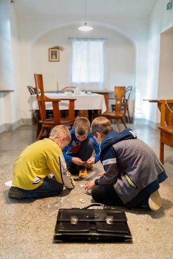 Prespimo v Plečnikovi hiši, dogodivščina za otroke