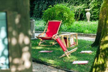 Na Plečnikovem vrtu ponovno zaživela Knjižnica pod krošnjami