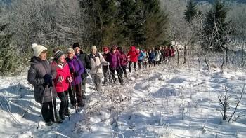 Vandrovke  osvojile  Čelkov  vrh