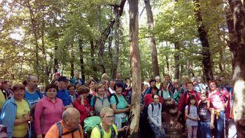 Srečanje planincev Notranjske 2017