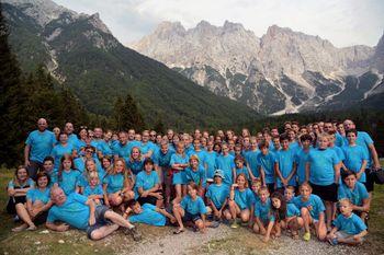 54. planinski tabor v Krnici