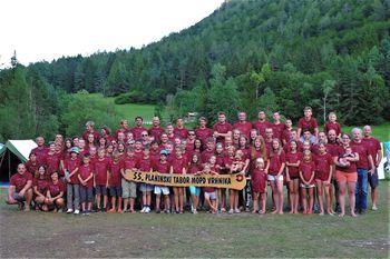 55. planinski tabor v Mlačci