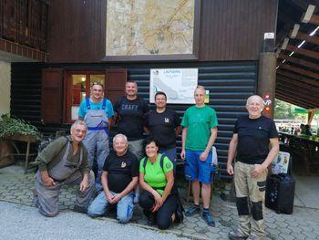 Delovna akcija Star maln – Lintvern 31. 8. 2019