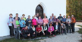 Pohod Zimzelenov na Magdalensko in Pugled goro