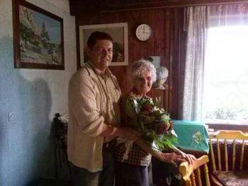 Ob 90-letnici Cecilije Mikelj
