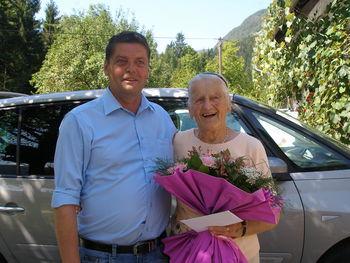 Marija Debevec praznovala 90 let