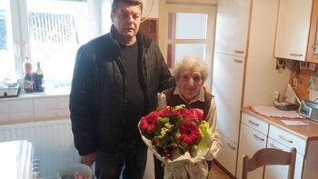 90. rojstni dan Marije Rozman