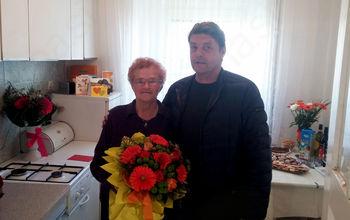 90. rojstni dan Helene Kokošin