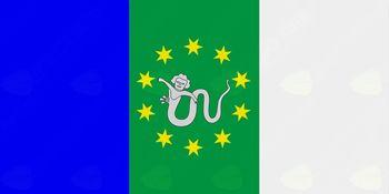 Krajevna skupnost Metnaj - Predstavitev zastave