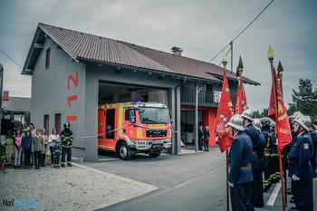 Novo vozilo in gasilski dom