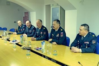 Župan sprejel predstavnike Slovenske vojske in župnike