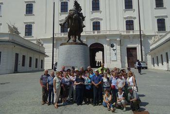 Upokojenci iz Horjula na Slovaškem