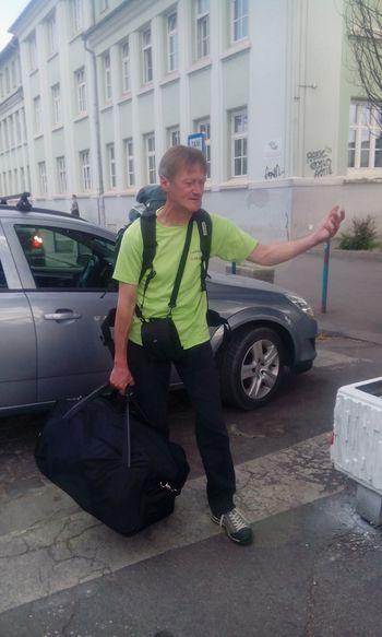 Andrej Petelin odšel na najvišji vrh Evrope