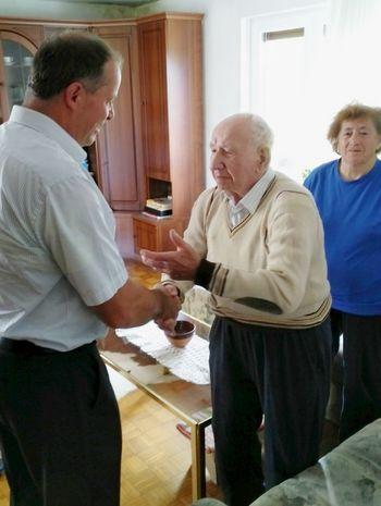 Ladislav Brglez obeležil 95. rojstni dan