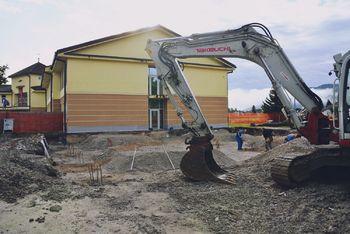 Pri Slomškovi šoli gradijo prizidek