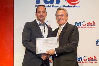 Najvišje priznanje svetovnega združenja Tekmovanju za čiste zobe